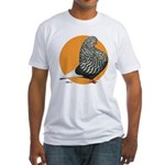 Orange Teager Flight Fitted T-Shirt