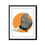 Orange Teager Flight Framed Panel Print