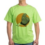 Orange Teager Flight Green T-Shirt
