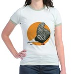 Orange Teager Flight Jr. Ringer T-Shirt