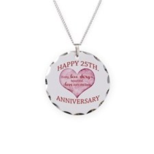 25th. Anniversary Necklace