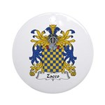 Zacco Ornament (Round)