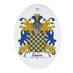 Zacco Oval Ornament