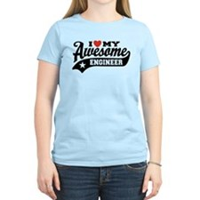 I Love My Awesome Engineer T-Shirt
