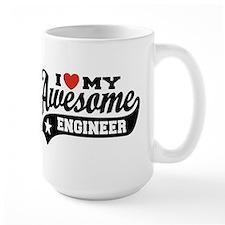 I Love My Awesome Engineer Mug