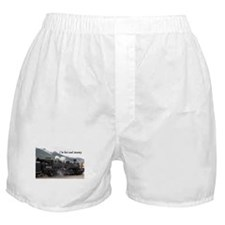 I'm hot and steamy: Colorado train 2 Boxer Shorts