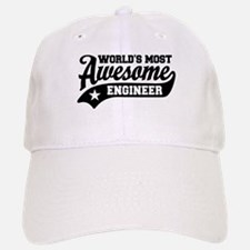 World's Most Awesome Engineer Baseball Baseball Cap