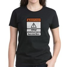 Wood Carving May Cause Baldness (German) T-Shirt