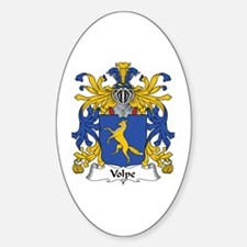 Volpe Oval Decal