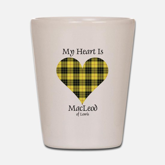 Heart-MacLeodLewis Shot Glass