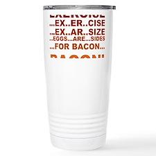 Cute Bacon Travel Mug