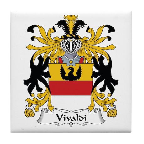 Vivaldi Tile Coaster