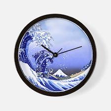 Monogram T Surf's Up! Wall Clock