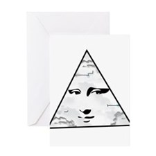 Illuminati Greeting Cards