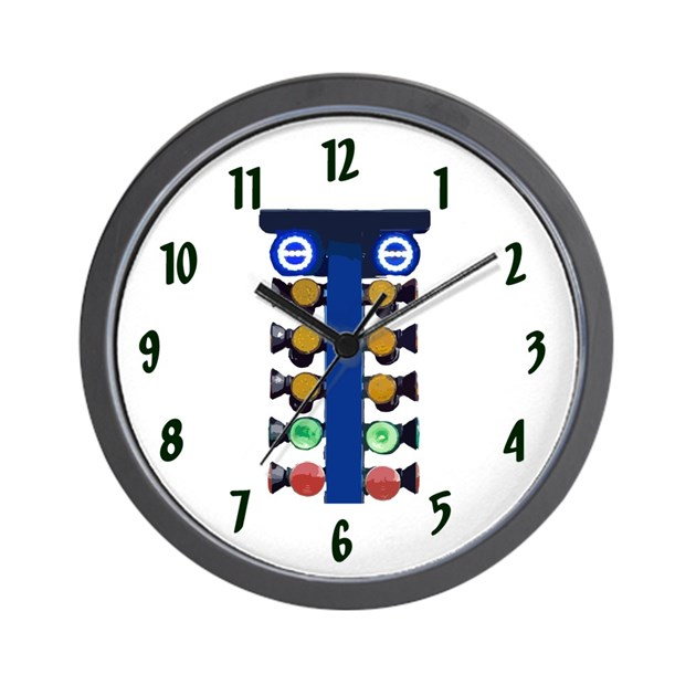 Christmas tree wall clock by theclockguy