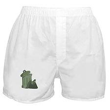 Trash Bin Boxer Shorts