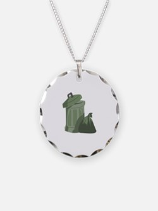 Trash Bin Necklace