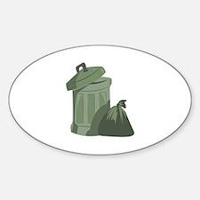 Trash Bin Bumper Stickers