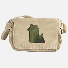 Trash Bin Messenger Bag