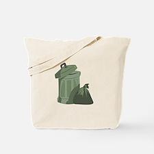Trash Bin Tote Bag
