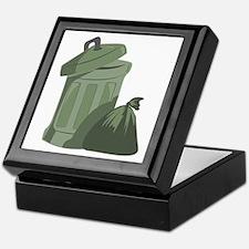 Trash Bin Keepsake Box
