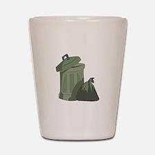 Trash Bin Shot Glass