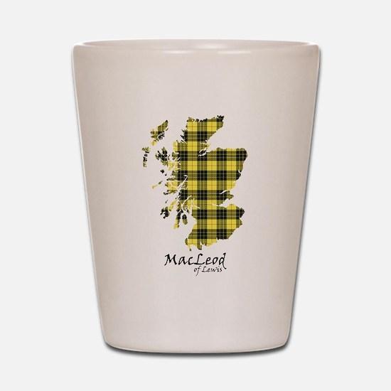 Map-MacLeodLewis Shot Glass