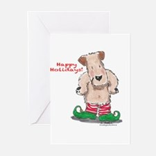 Wheaten Elf Greeting Cards (Pk of 20)