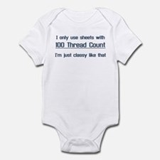 Thread Count Snob Infant Bodysuit