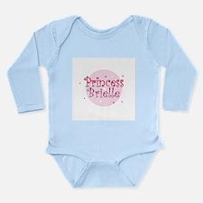 Cute Brielle Long Sleeve Infant Bodysuit