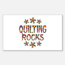Quilting Rocks Stickers
