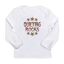 Quilting Rocks Long Sleeve Infant T-Shirt