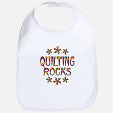 Quilting Rocks Bib
