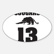 COUGARS Decal