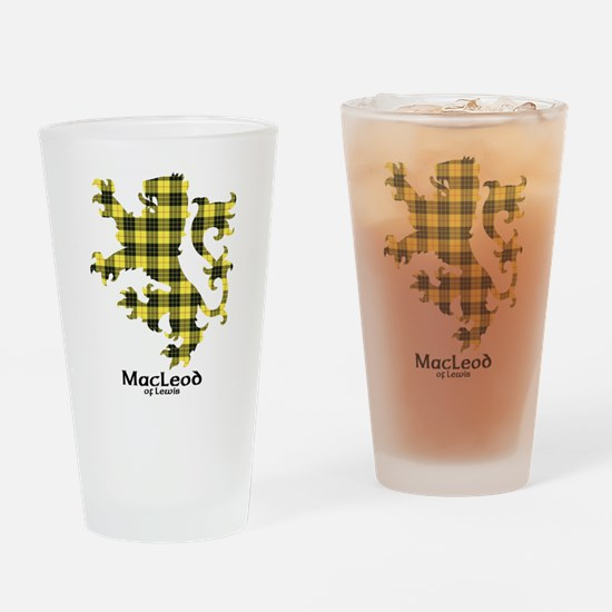 Lion-MacLeodLewis Drinking Glass
