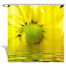 Sunrise Yellow daisy Shower Curtain