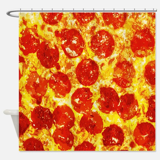 Pizzatime Shower Curtain