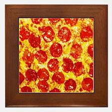 Pizzatime Framed Tile