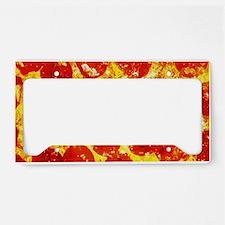 Pizzatime License Plate Holder