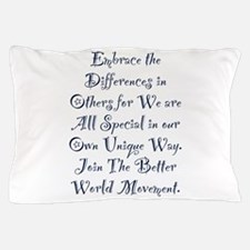 Embrace the Differences Pillow Case