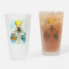 Vacation Angel Drinking Glass