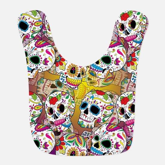 Sugar Skulls Bib