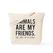Funny Proud vegetarian Tote Bag