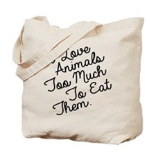 Cute Proud vegetarian Tote Bag