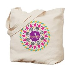 Personalized Name Monogram Tote Bag