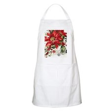 Unique Poinsettia Apron