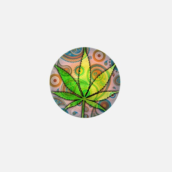 Ganja Mini Button
