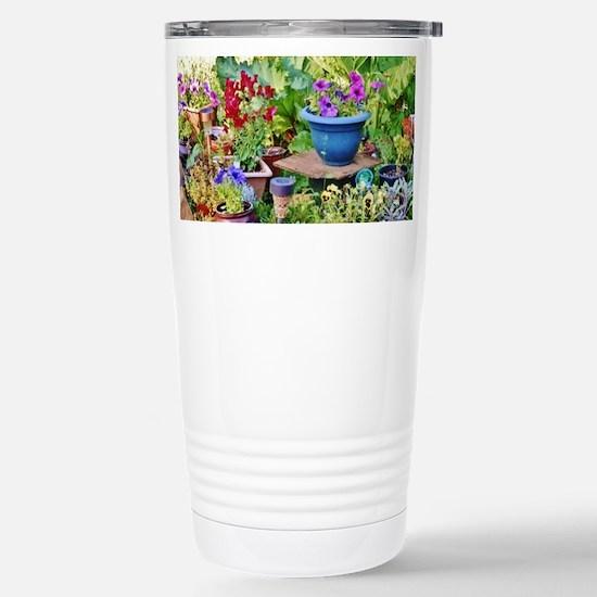 """LOVE A ROCK GARDEN"" Travel Mug"