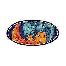 Koi Fish Patches
