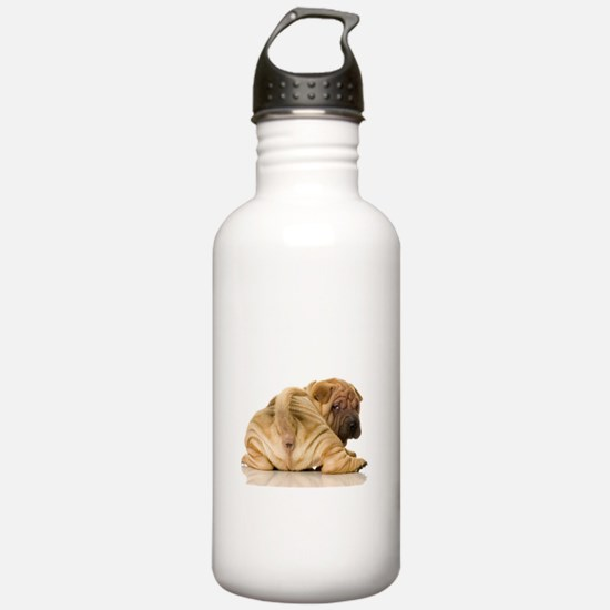 Sharpei Water Bottle